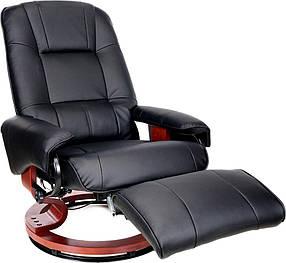 Массажное кресло HOME&OFFICE, подогрев,черное