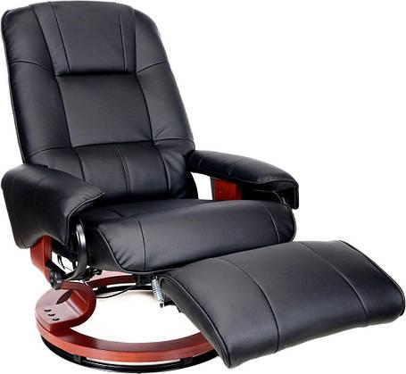 Массажное кресло HOME&OFFICE, подогрев,черное, фото 2