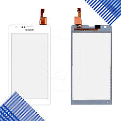 Тачскрин Sony C5302 M35h Xperia SP, C5303 M35i Xperia SP, C5306, цвет белый