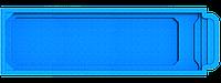 "Композитный бассейн ""Атлантида 10"" (длина: 10,3м, ширина: 2,9 м, глубина: 1,05/1,5 м с перепадом глубин, фото 1"