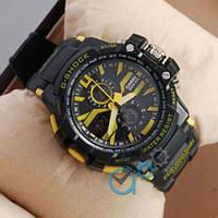 Наручные мужские часы Casio D-1365A Black/Yellow