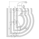 Смеситель для ванны Bianchi Giotto 40 mm, фото 2
