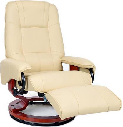 Массажное кресло HOME&OFFICE, подогрев, бежевое, фото 2