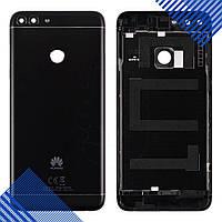 Задняя крышка для Huawei P Smart Enjoy 7s (FIG-L31 FIG-LX1), цвет черный