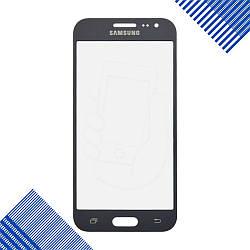 Стекло корпуса для Samsung J200, J200G, J200H, J200Y, J200F Galaxy J2 (2015), цвет серый
