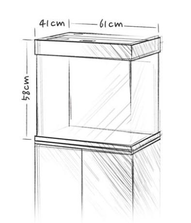 Аквариум Juwel LIDO 120, 120 литров