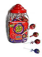 Леденцы Pin Pop Mix Банка 100 шт (Aldor)