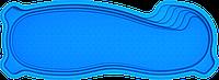 "Композитный бассейн ""Монако 10"" (длина: 10 м, ширина:3,6 м, глубина:1,25-1,9 м с перепадом глубины), фото 1"