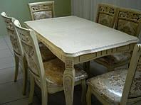 Столы и стулья из массива дерева , фото 1
