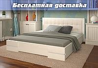 Кровать деревянная Регина из натурального дерева полуторная