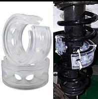 Автобаферы силиконовые 50 мм общая высота 20 мм межветковая кольца в пружину межвитковые