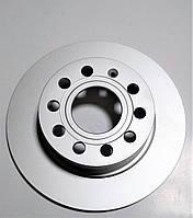Задній гальмівний диск Шкода Октавія А5 Суперб Єті 253x10x5 Нідерланди SkodaMag, фото 1