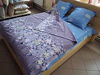 Комплект постельного белья ранфорс Незабудки