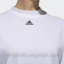 Белый лонгслив Adidas Sport 2 Street W DV0746  , фото 3