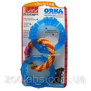 Игрушка для собак Petstages кольца для зубов (диаметр 10 см)