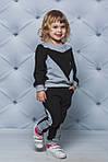 Детский спортивный костюм для девочки  Демисезонный Черный, фото 2