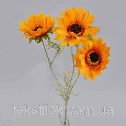 Соняшник потрійний 60 див. штучні Квіти