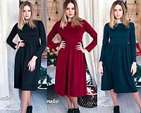 """женское платье миди """"Альба""""  (жіноче плаття ) 3 цвета"""