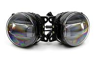 Светодиодные противотуманные фары с линзой и DRL 3*5w Toyota/Lexus