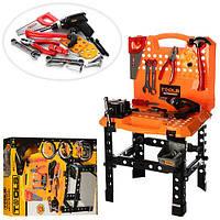 Набор детских строительных инструментов в чемодане (73 предмета)