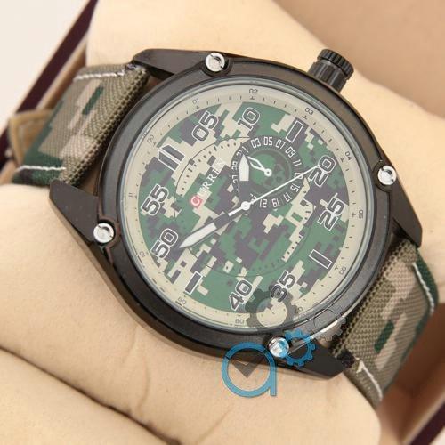 Наручные мужские часы Curren Military 8183 Green