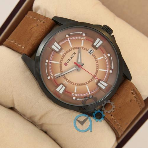 Наручные мужские часы Curren Gradient 8155 Black\Brown