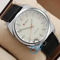 Наручные мужские часы Curren Classico 8168 Silver\White