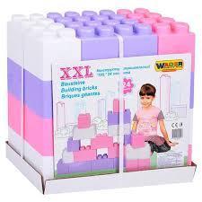 Конструктор,XXL 24 элемента, Wader 40107