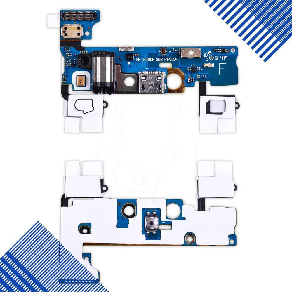 Разъем зарядки Samsung Galaxy E5 E500F с нижней платой