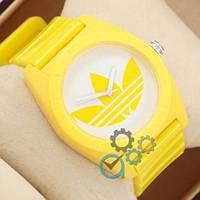 Наручные мужские часы Adidas Log 0927 Yelloy\White