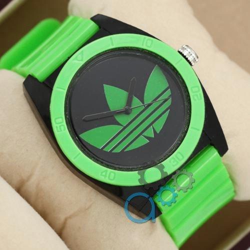 Наручные мужские часы Adidas Log 0927 Green\Black