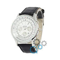 Наручные мужские часы Breitling Chronometre Navitimer Black/Silver/White