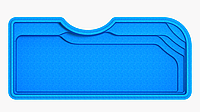"Композитный бассейн ""Корсика"" (длина: 8,4 м, ширина:3,8 м, глубина1,6 м), фото 1"