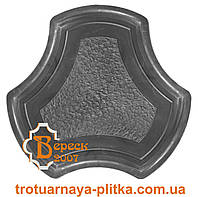 Форма для тротуарной плитки Рокки