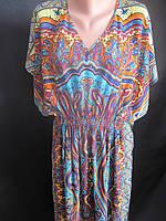 Длинные платья из штапеля для женщин., фото 1