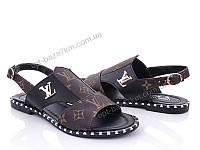 Босоножки женские Summer shoes LV02 коричневый (36-40) - купить оптом на 7км в одессе