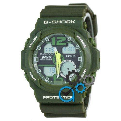 Наручные мужские часы Casio G-Shock GA-150 Green