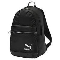 Рюкзак спортивный Puma Orginals Daypack 075086 01 (черный, мягкие ремни, отсек под ноутбук, 20 л, бренд пума), фото 1