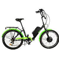 Электровелосипед SMART24-MX01 Люкс 500W/48V (литиевый аккумулятор 48V), фото 1