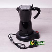 Гейзерная электрическая кофеварка Kamille 2600