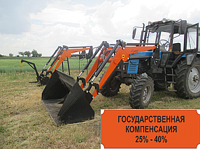 Погрузчик Фронтальный Быстросъёмный НТ-1500 КУН на ЮМЗ с НДС