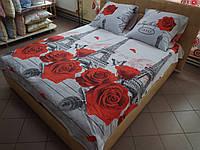 Комплект постельного белья ранфорс Париж
