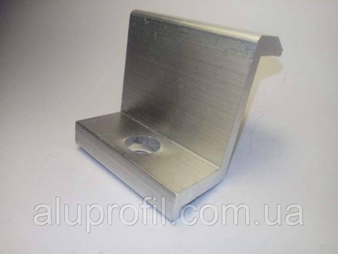 Алюминиевый профиль — Прижим концевой алюминиевый 35/30мм Б/П