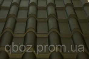 Материал для крыши. Керамопласт - Черепица . Черный, фото 3