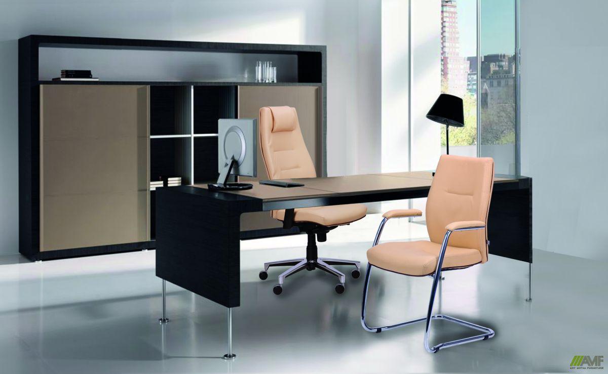 Кресло Элеганс НВ Неаполь-34 (салатовый), боковины/задник Неаполь-23 (серый) TM AMF, фото 6