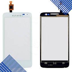 Тачскрин Alcatel 5020D One Touch M Pop Dual, цвет белый