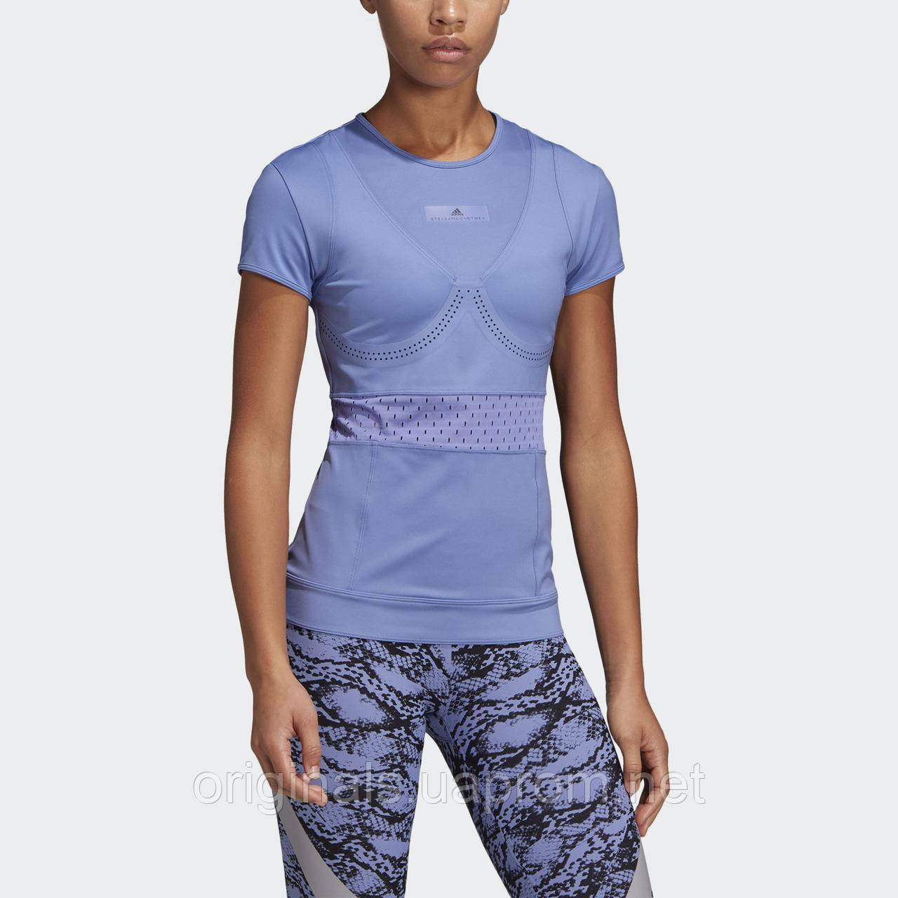 6c391496985 Спортивная футболка adidas by Stella McCartney Train Tee DT9258 - 2019 -  интернет-магазин Originals
