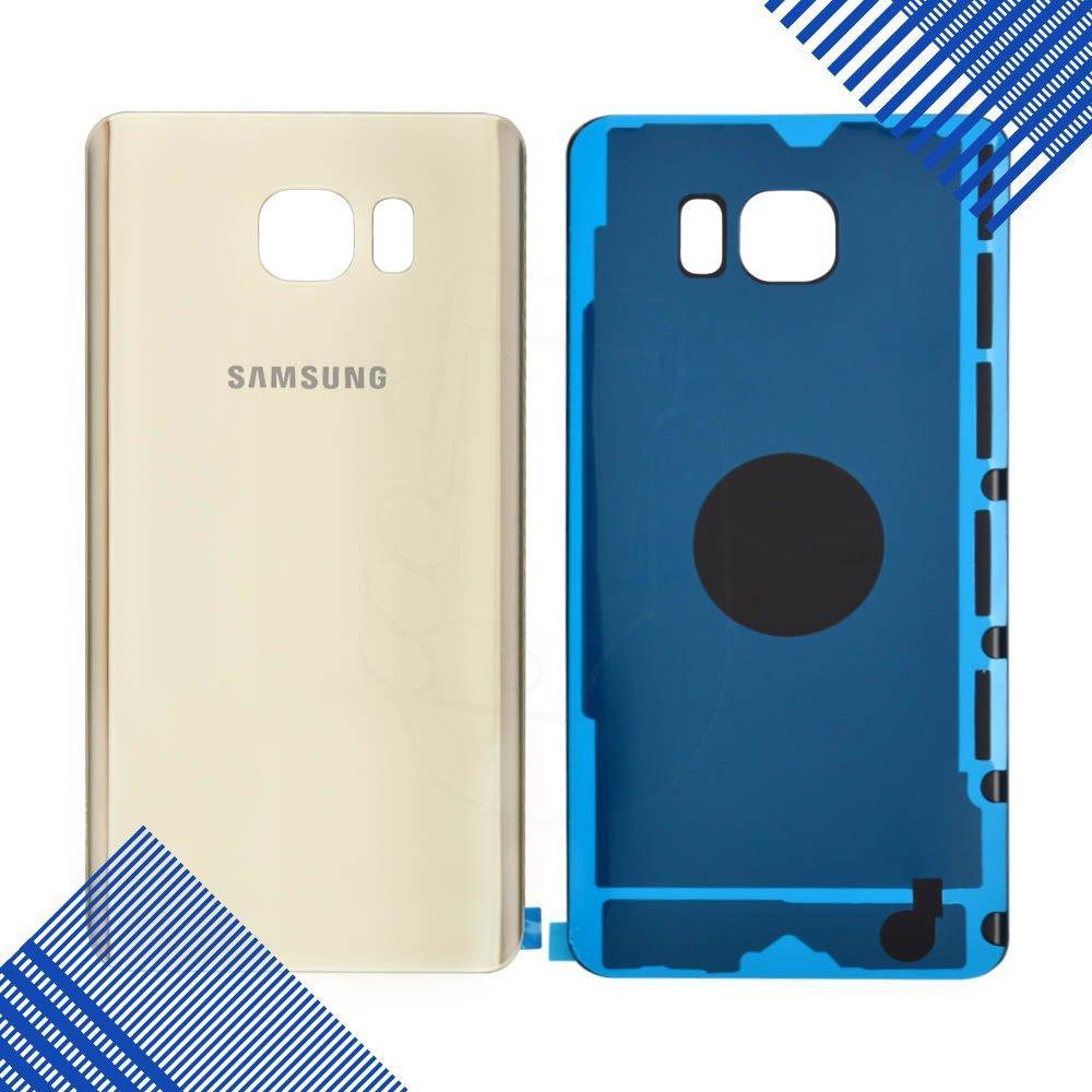 Задняя крышка Samsung N920 Galaxy Note 5, цвет золотой