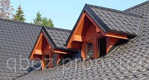 Материал для крыши. Керамопласт - Черепица . Черный, фото 2