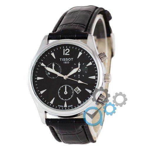 Наручные мужские часы Tissot 1853 Black-Silver-Black